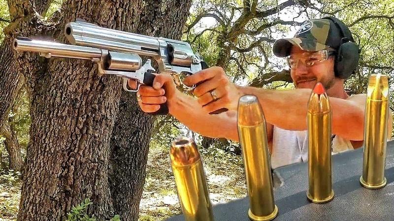 Гигантский револьвер... больше, чем .500 SW Magnum | Разрушительное ранчо | Перевод Zёбры