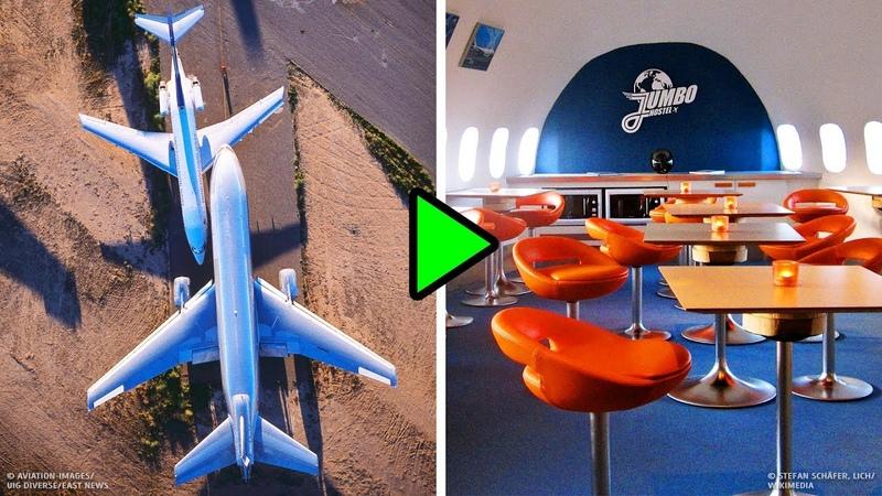 Что случается со списанными самолетами