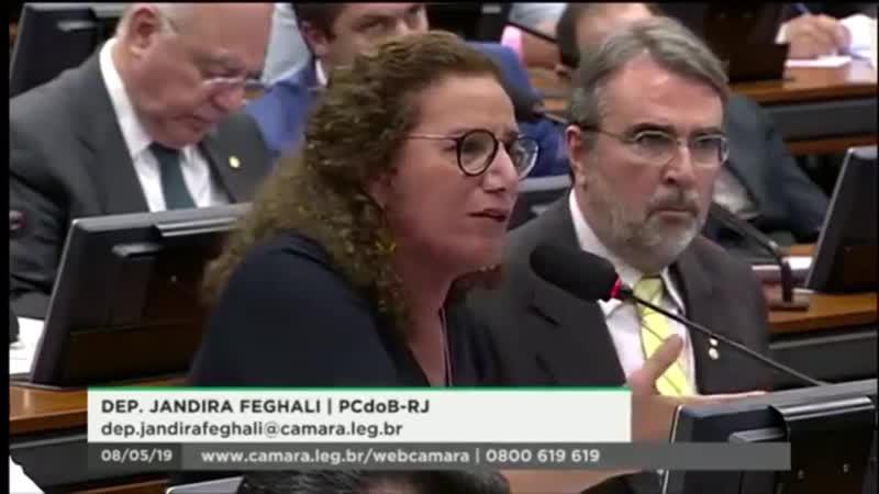 Comissão Especial da Reforma da Previdência Dep. Jandira Feghali