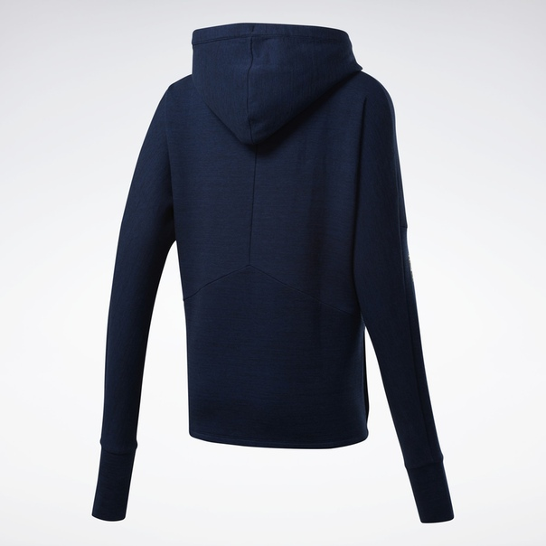 Худи United by Fitness Doubleknit Full-Zip image 8
