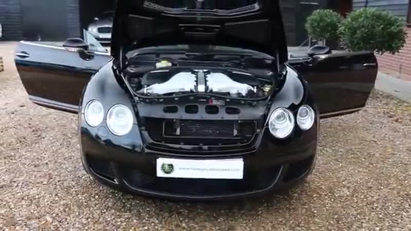 Bentley Continental GT 6 0L W12 Automatic in Beluga Black with Saffron Leather