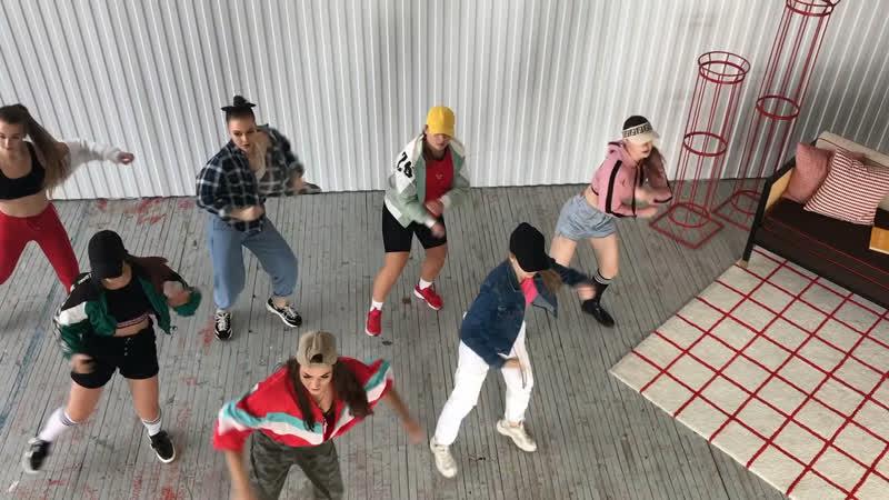 REGGAETON choreo by OlyaBamBittaDj Luian,Mambo kingz, Anuel AA,Becky G,Prince Royce - BubaluGet a buzz squad