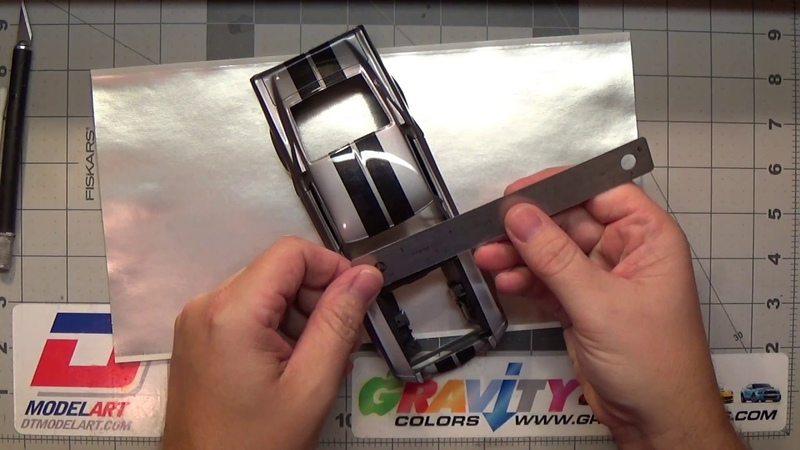 1967 Shelby Mustang GT500 Eleanor scale model build-up video part 9