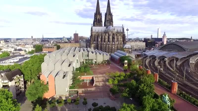 Liebe deine Stadt Köln von oben