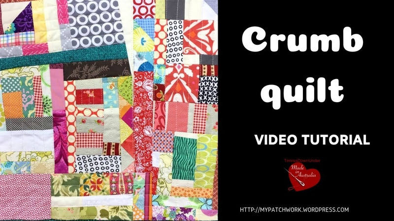 Crumb quilt video tutorial