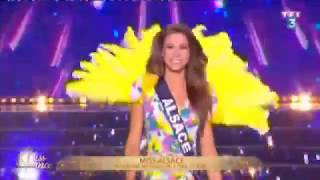 Defile maillot Miss Alsace images TF1