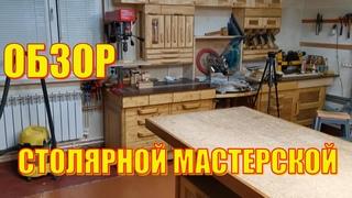 Обзор домашней столярной мастерской 6 01 2021г
