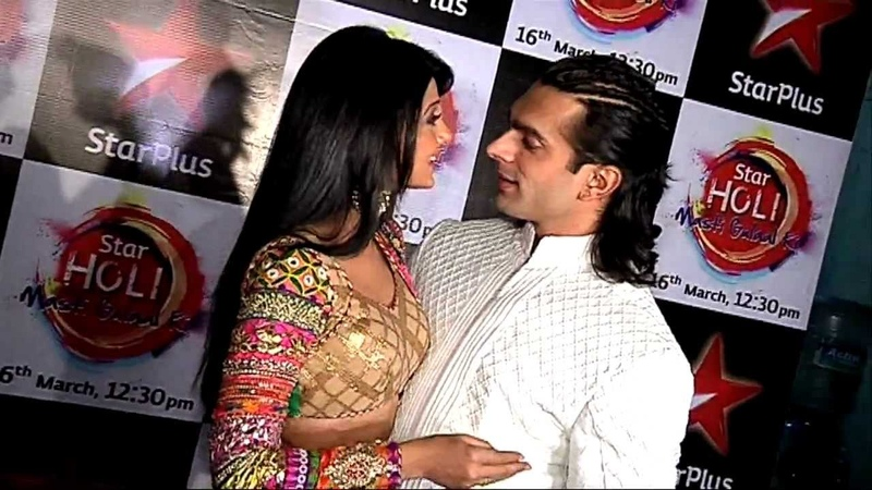Karan Singh Grover's romantic moments with wife Jennifer Winget