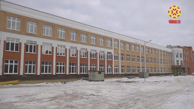 Строительство самой большой школы в республике выходит на финишную прямую