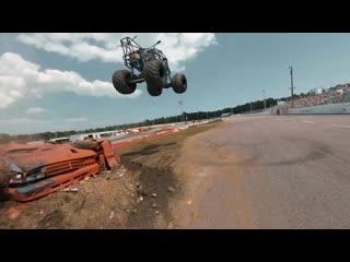 - droneadventures Monster Truck Beach Devastation 2020 nitsudo fpv