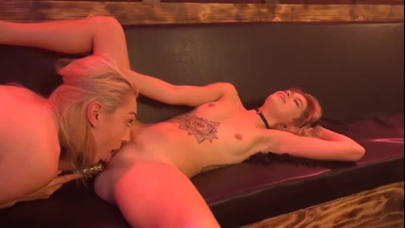 Sexy lesbians at club devious