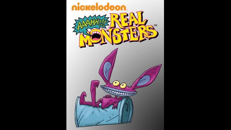 Настоящие Монстры AAAHHH Real Monsters Ickis Айкис AMV Skillet Monster Eng Rus Version