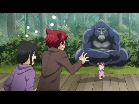 смешной момент из аниме детектив оборотень инаба