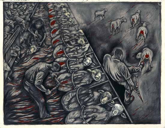 Картина художницы Сью Коу