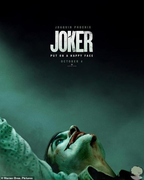 Хоакина Феникса не узнать в гриме: новый постер и трейлер к фильму «Джокер»