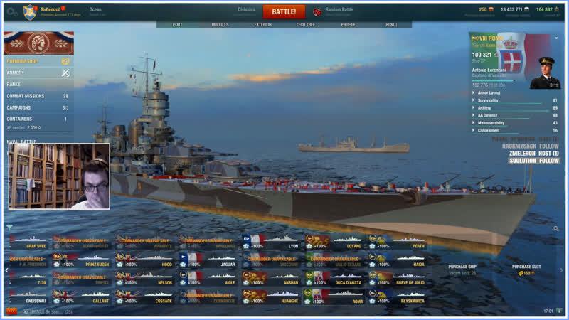 World of Warships Livestream ENG NOR loots sirgemzol worldofwarships