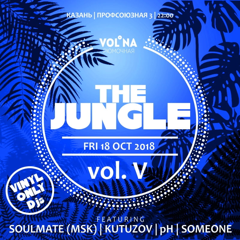 Афиша Казань 18.10.2019 / THE JUNGLE vol. 5 / «Волна»