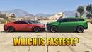 GTA 5 ONLINE WHICH IS FASTEST ARMORED CAR PARAGON R BALLER XLS SCHAFTER V12 KURUMA MORE