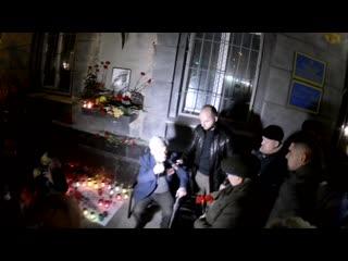 Украинские фашисты опять подожгли в Одессе