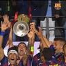"""FC Barcelona on Instagram: """"👀 OnThisDay 🔙 2015 📍 Berlín 🏆🏆🏆🏆🏆 @championsleague 🔵🔴 Força Barça!"""""""