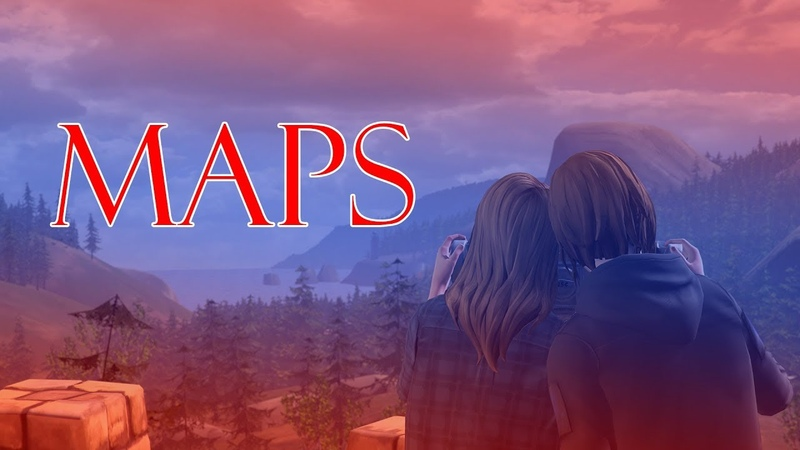 MAPS - Before The Storm GMV (Chloe And Rachel) Life Is Strange