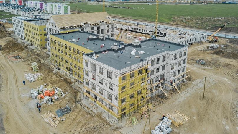 Отчет о ходе строительства квартал «Среда» май 2020, изображение №12