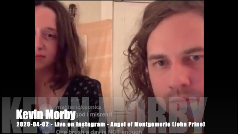 Kevin Morby Angel of Montgomerie John Prine 2020 04 02 Live on Instagram