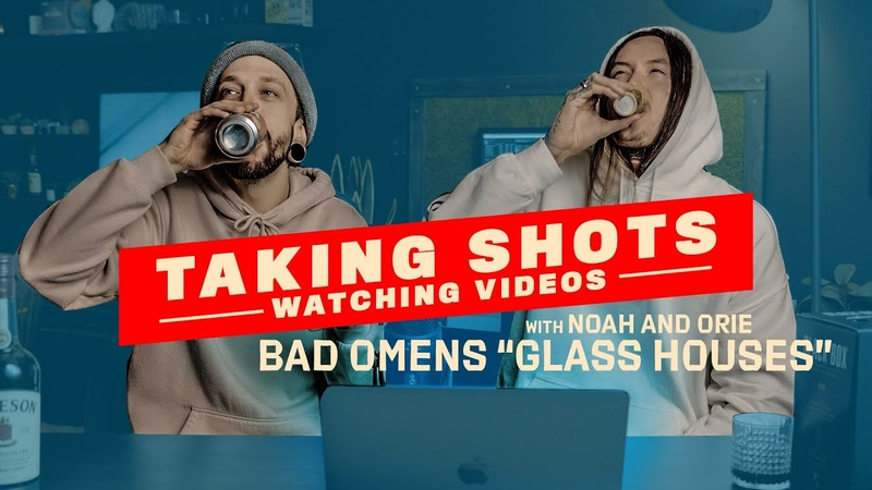 """Watching BAD OMENS GLASS HOUSES"""" with Noah and Orie"""