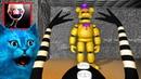 ИГРАЮ ЗА МАРИОНЕТКУ АНИМАТРОНИКА ФНАФ 3D ПУГАЮ ОХРАНИКА / КООП FNAF Sinister Turmoil / КОТЁНОК ЛАЙК