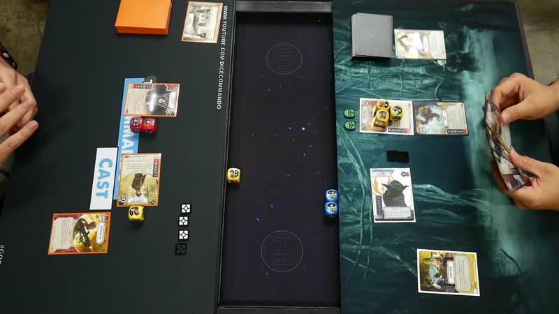 Jyn Erso (06.084) Cassian Andor (05.090) vs Yoda (04.033) Hondo Ohnaka (04.065)
