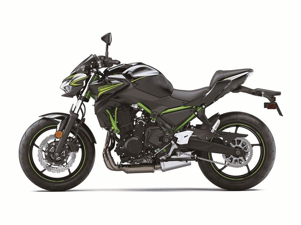 Kawasaki Z650 2020 соответствует евро5