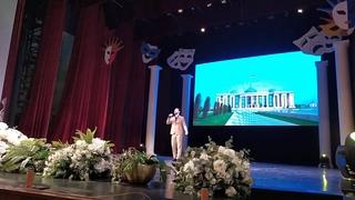 Песня о Родине - народный артист ЧР Мурад Байкаев - театральный фестиваль | Грозный, сентябрь 2019
