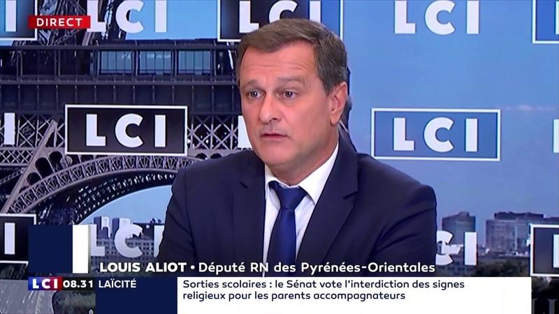 Louis Aliot invité politique d'Elisabeth Martichoux