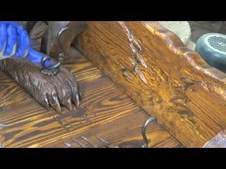 Подборка необычных самоделок из дерева.