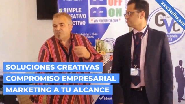 Agencia de Marketing Digital y SEO efectiva BEOFFON Grupo Valencia Conecta Networking Valencia 2019 on Vimeo