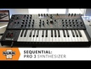 Sequential Pro 3 Synthesizer at Winter NAMM 2020