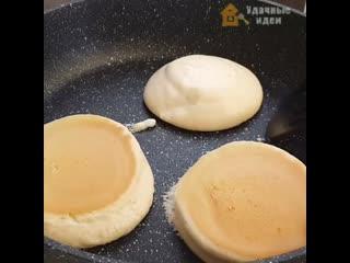 Нежные и вкусные японские панкейки