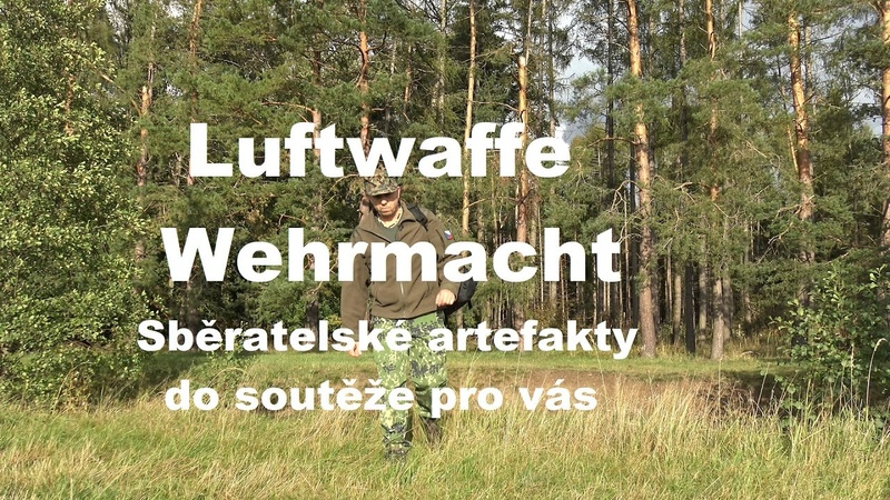 Sběratelské artefakty Luftwaffe a Wehrmachtu pro vás, do soutěže.