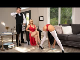 Sarah Vandella, Kendra Spade - The Baroness (Threesome, Deep Throat, Indoors, Kitchen, 69, Cowgirl, Doggystyle, MILF, Blonde)