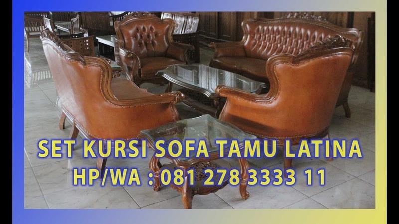 Jual Set Kursi Sofa Tamu Latina Kayu Jati By Jepara Indah Furniture