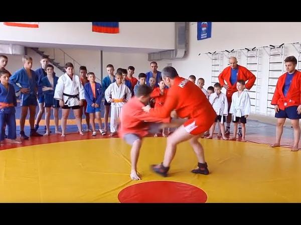 Выхват за ножку от Игоря Куринного. Leg throws by pull by Igor Kurinnoy