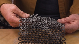 Adam Savage Geeks Out Over EVA Foam Chain Mail