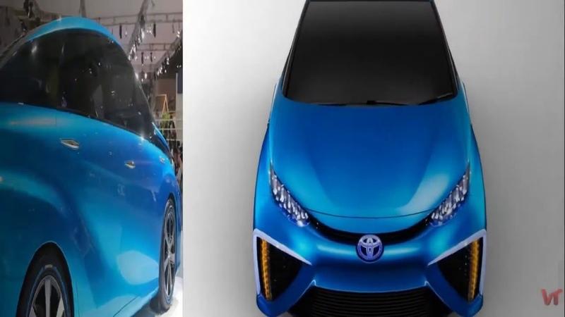 Водородный Fuel Cell Concept от Toyota