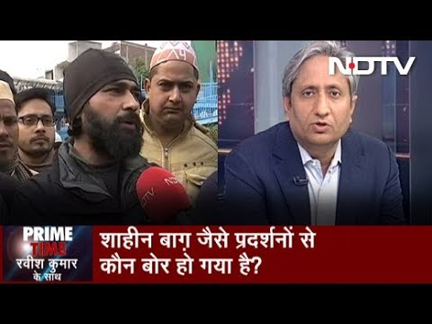 Prime Time With Ravish Jan 17 2020 Delhi's Shaheen Bagh Protest Replicas Across The Country