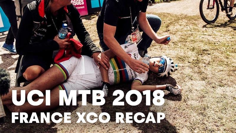 Jolanda Neffs Battle For The World Cup Title | UCI MTB 2018 Cross Country Recap