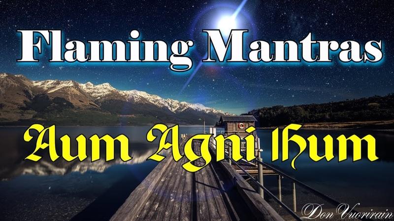 Warning! Very powerful! Mantra Aum Agni Hum | Мантра Аум Агни Хум. Картины Рериха Н.К