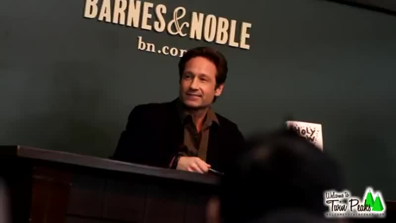 "Bree Sharp performs David Duchovny"" live in front of David Duchovny in New York"