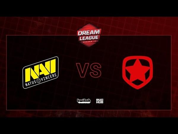 Natus Vincere vs Gambit, DreamLeague S13 QL, bo3, game 2 [CrystalMay Smile]