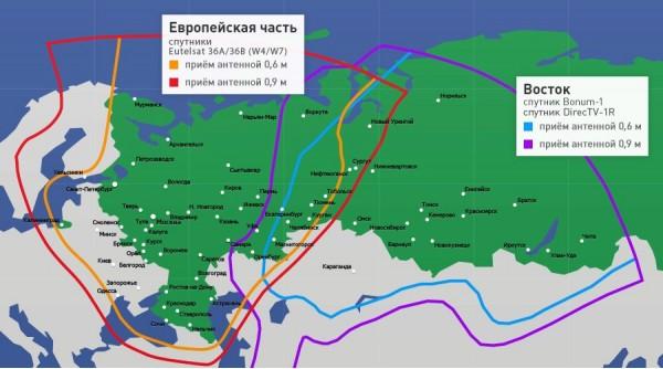 Настройки нтв плюс частота Ленинградская область