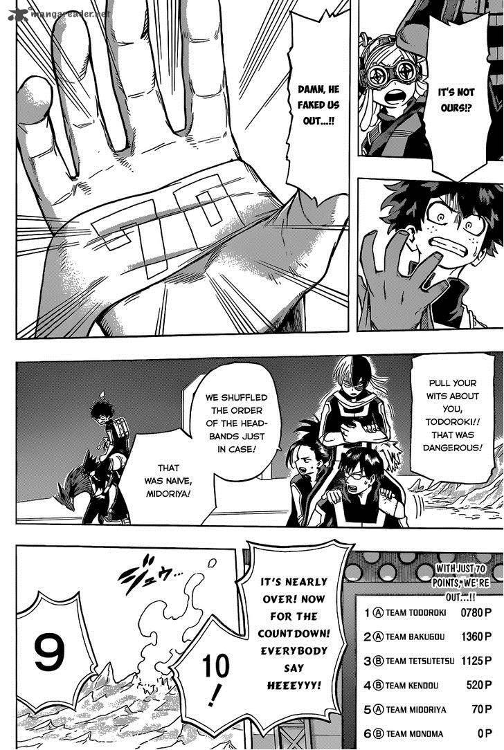 Boku No Hero Academia, Chapter 30, image #16
